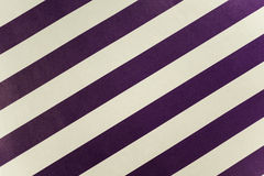 Purple and white striped craft paper texture Stock Photography