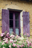 Purple window Royalty Free Stock Photo
