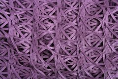Purple wired fabric texture like spider messy net Royalty Free Stock Image