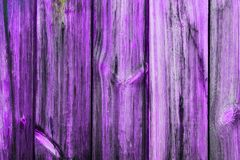 Purple wood texture. Vertical purple wooden background stock photography