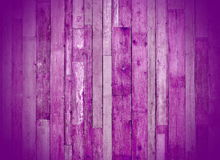 Purple wooden planks. Purple latticework connected to the wall Royalty Free Stock Photos