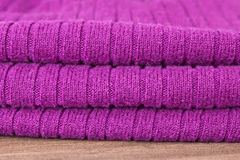 Purple wool Stock Images