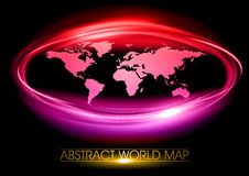 Purple world Stock Images