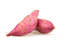 Purple Yam Stock Photo
