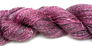 Purple Yarn Royalty Free Stock Images