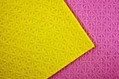 Purple and yellow background. Stock Photos