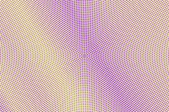 Purple yellow dotted halftone. Halftone  background. Diagonal subtle dotted gradient. Retro futuristic texture. Violet dot on transparent backdrop. Abstract Stock Photos