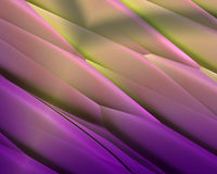 Purple Yellow metallic diagonal stripe texture Stock Images