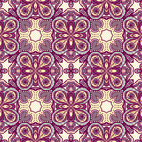 Purple and yellow pattern Stock Photo