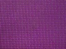 Purple yoga mat texture and background Royalty Free Stock Images