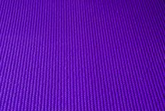 Purple Yoga Mat Texture Royalty Free Stock Photo