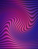 Purple zebra.Abstract background.  Saturated color. Stock Photography