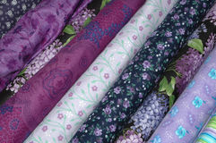 PurpleQuilt Royalty Free Stock Photo