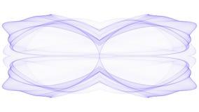 Purplish abstrakcjonistyczny p?omienia projekt ilustracja wektor