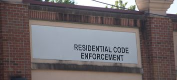 Code Enforcement Residential. The purpose of the Department of Housing/Code Enforcement is to protect the public health, safety, and welfare in existing stock image
