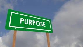 Purpose stock video footage