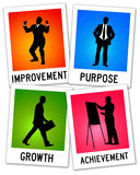 Purpose and growth Stock Images