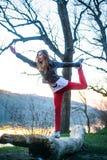 Purposeful girl Royalty Free Stock Images