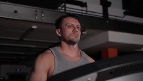 The purposeful man focused on his training.