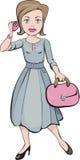 The purposeful woman Royalty Free Stock Image