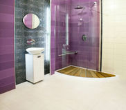 purpur dusch royaltyfria foton
