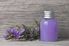 purpur dusch för gel Arkivbilder