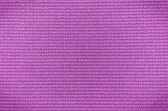 Purpur farbige Yogamattenbeschaffenheit dng Lizenzfreie Stockbilder