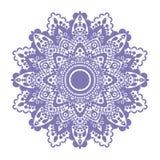 Purpur prydnad vektor illustrationer