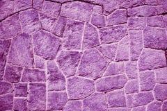 Purpur-/purpurbacksteinmauer (Hintergrund, Tapete, Ziegelsteine) Stockbilder