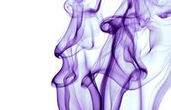 purpur rök royaltyfria bilder