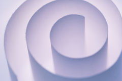 purpur spiral Fotografering för Bildbyråer