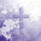 purpur splatter för kors Royaltyfria Foton