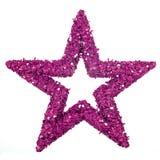 purpur stjärna royaltyfria foton