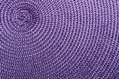 purpur synthetic för tätt tyg upp Arkivbilder