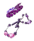 purpur tillbehör royaltyfri bild