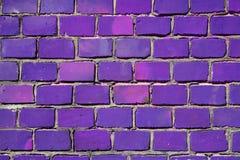 purpur vägg Royaltyfri Foto