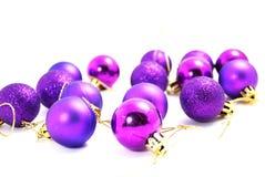 purpura bollar Royaltyfri Bild