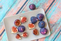 purpura figs Royaltyfri Foto