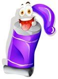 Purpura kolor w tubce ilustracji