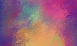 Purpura koloru żółtego i pomarańcze różowy błękitny tło z szklistą bokeh świateł teksturą zamazuje Zdjęcie Royalty Free