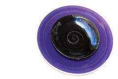 Purpura koloru naczynie Fotografia Stock