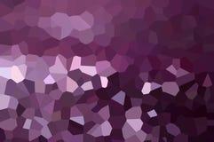 Purpura krystalizujący abstrakcjonistyczny tło Obrazy Royalty Free