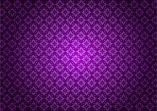 purpura kwiecisty deseniowy wektor Obraz Stock