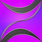 Purpura liści tła sposoby Zginający Wykładają I rośliny Obraz Stock