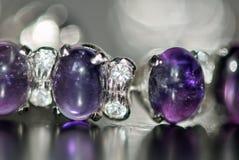 purpura stenar Arkivfoton
