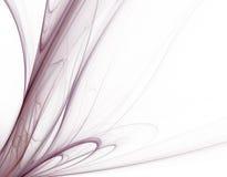 purpura swirls Royaltyfria Bilder
