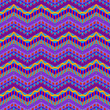 Purpura zygzag lampasów wzór ilustracji