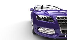 Purpurfärgad bilframdel Arkivfoto