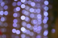 Purpurfärgad bokehbakgrund Fotografering för Bildbyråer