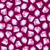 Purpurfärgad briljant modell för vattenfärg För design, tryck eller bakgrund vektor illustrationer